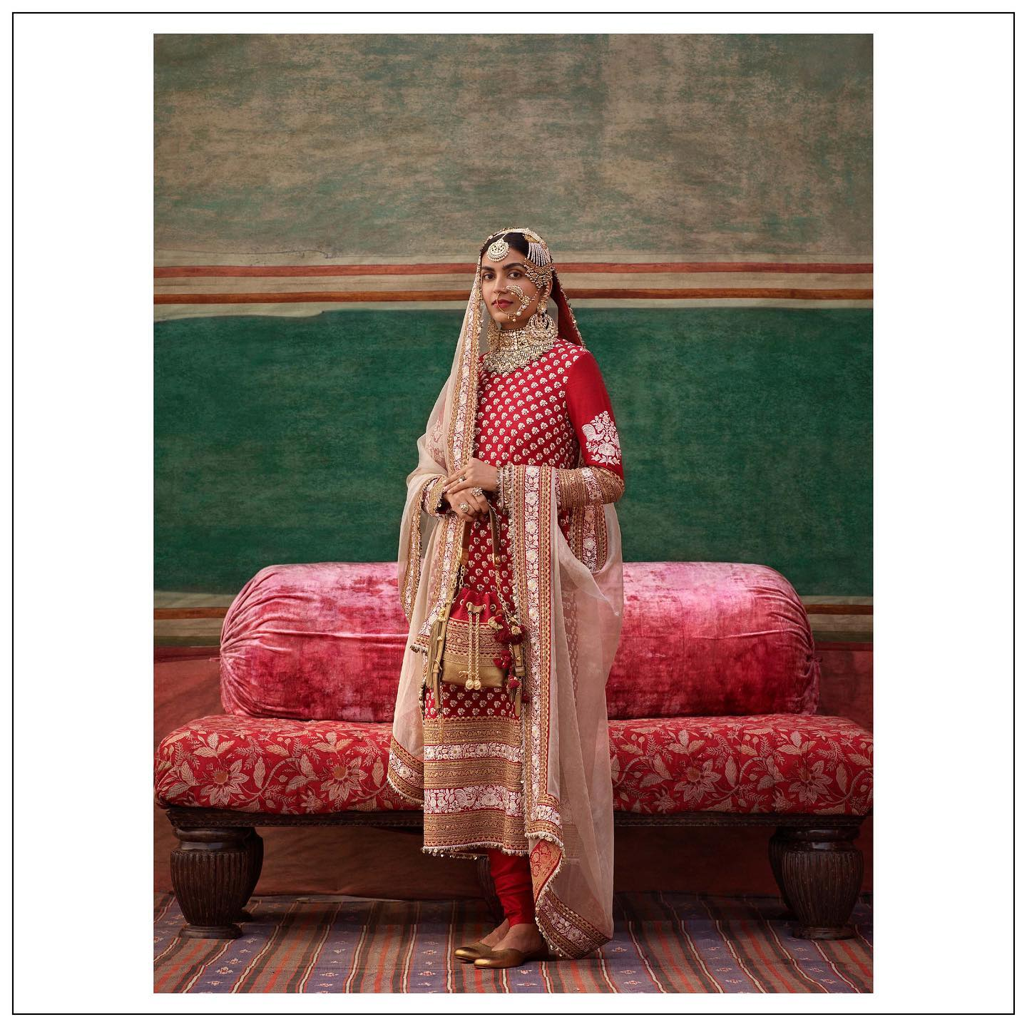 Stunning Red color floor length bridal kurti dress. The New Collection.  Womenswear and jewellery Sabyasachi jewelry.  For all product related queries please email  at customerservice@sabyasachi.com or contact retail stores directly. 2021-09-06