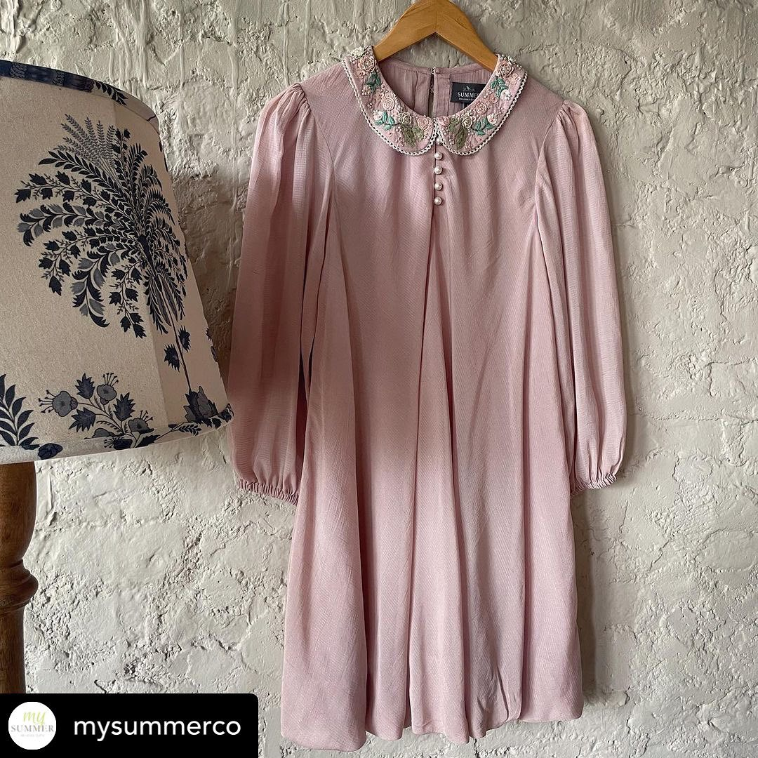 Use this dress as tunic by day and a dress by night . Dutch Collar Dress. 2021-10-02