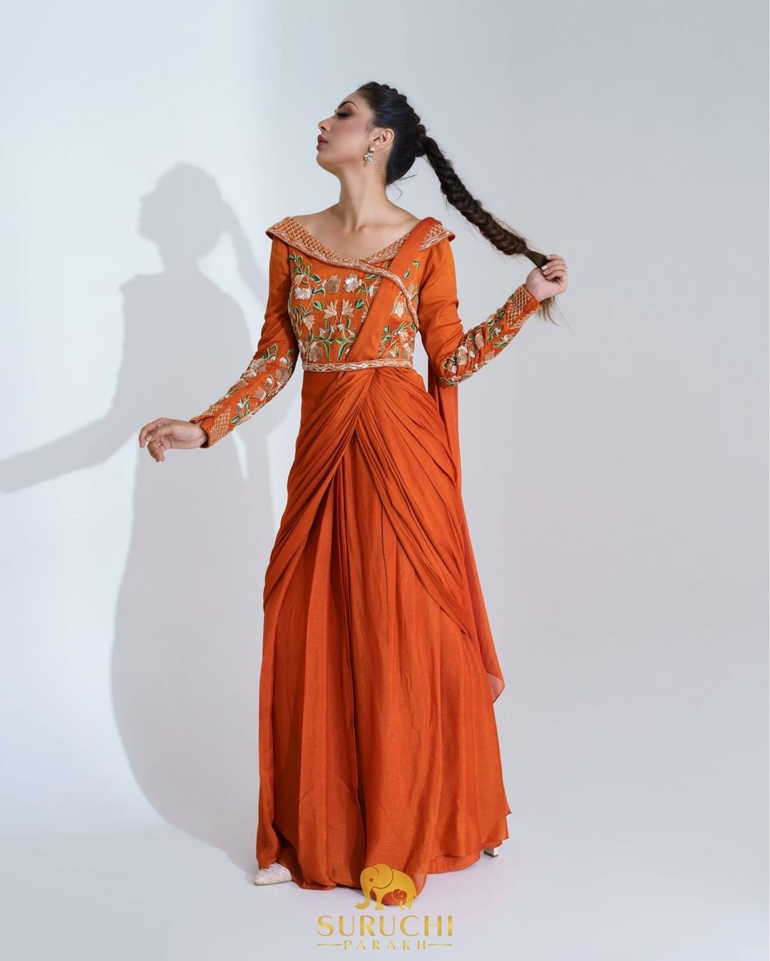 Bright hues and uniquely crafted drapes tailored in a timeless style and here to take over the trends this year. 2021-10-11