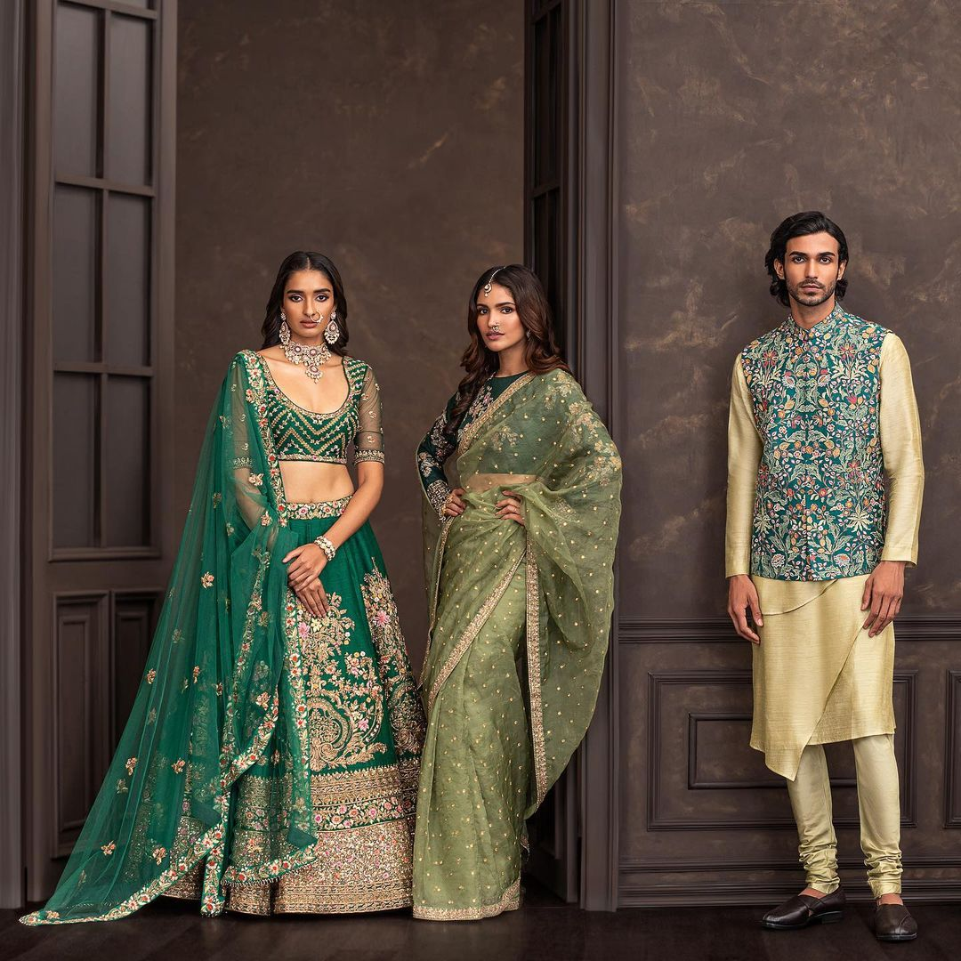 Wedding Couture 21-22 Shyamal and Bhumika . The latest Wedding Couture collection is now available in-store! 2021-10-11